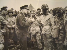 Ike D-Day photo PRINT